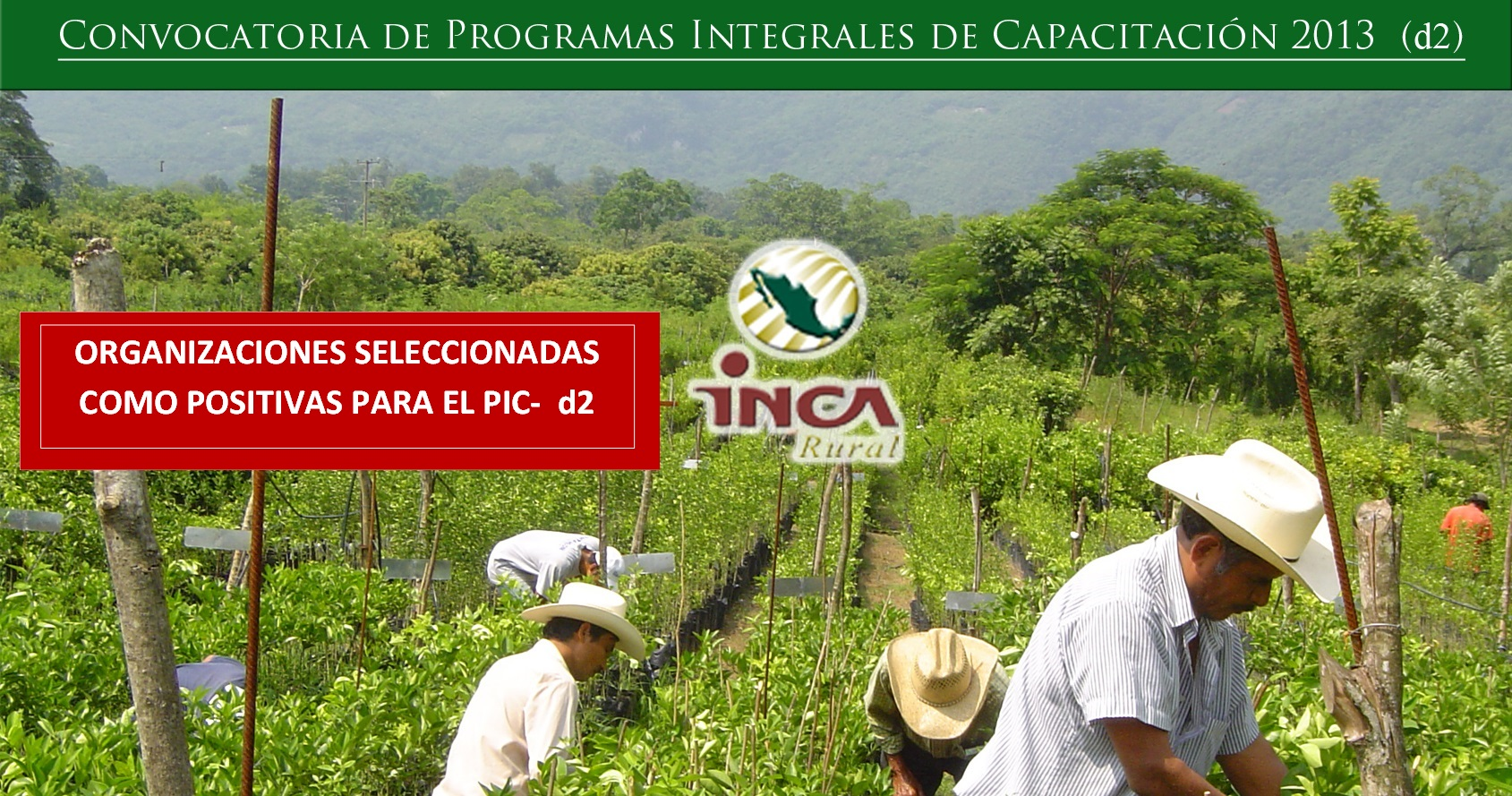 Convocatoria: Programas Integrales de Capacitaci?n Estatales- 2013 d2